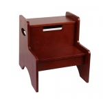 Wildkin Levels of Discovery Cherry Finish Wildkin Wildkin Two Step Stool - Cherry Finish