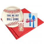 BuySeasons Baseball Time 8 Guest Party Pack