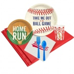BuySeasons Baseball Time 16 Guest Party Pack