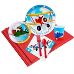 BuySeasons Airplane Adventure 24 Guest Party Pack