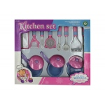 Kitchen Cooking Play Set: assorted colors