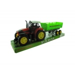 Friction Farm Tractor Truck & Trailer Set: assorted colors,assorted styles
