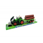 Friction Powered Farm Tractor Truck & Trailer Set: assorted colors,assorted styles