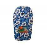 Blue Pattern Bodyboard With Leash: assorted styles