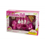 Mini Kitchen Play Set With Food: assorted styles