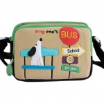 Blancho  Embroidered Applique Swingpack Bag Purse / Wallet Bag  - Sing My Way