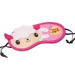 Blancho  Embroidered Applique Eye Shade / Sleeping Mask Cover  - Good Night Lamb