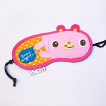 Blancho  Embroidered Applique Eye Shade / Sleeping Mask Cover  - Good Night Rabbit