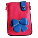 Blancho  Colorful  Leatherette Mobile Phone Pouch Cell Phone Case Clutch Pouch - Cherry's Secret