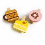 Blancho  - Wooden Clips / Wooden Clamps  - Colorful Life-C