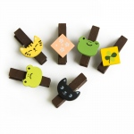 Blancho  - Wooden Clips / Wooden Clamps  - Sundry Animals