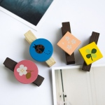 Blancho  - Wooden Clips / Wooden Clamps  - Colorful Clips