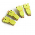Blancho  - Wooden Clips / Wooden Clamps  - Smile Frog