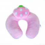 Blancho  Neck Cushion  - Pink Strawberry