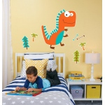 BuySeasons Dino Giant Wall Decal