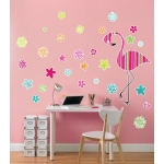 BuySeasons Flamingo Giant Wall Decal