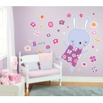 BuySeasons Rabbit Gaint Wall Decal