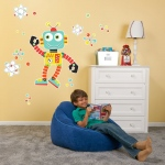 BuySeasons Robot Giant Wall Decal