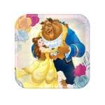 "Disney Beauty and the Beast  7"" Plate: Birthday"