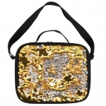 BuySeasons Gold & Silver Sequin Lunch Tote