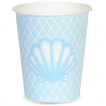 Mermaids Under The Sea - 9oz. Cup (24): Birthday