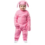 Christmas Bunny Children's Costume 3-4T: Toddler 3-4T, Everyday, Toddler