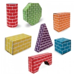 Edushape® Corrugated Blocks & Shapes