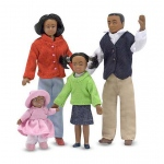 Victorian Doll Family - African-American