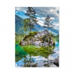 Evergreen Reflections 500-Piece Cardboard Jigsaw Puzzle