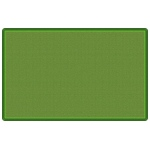 "Flagship Carpets All Over Weave Green: 7' 6"" X 12'"