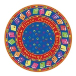 Flagship Carpets Circle Time Books Bright: 6' Round