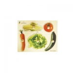 Edushape® Wodden Knobs Puzzle: Vegetables