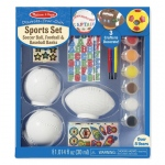 Decorate-Your-Own Sports Set