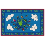 Flagship Carpets Happy World: 3' X 5'