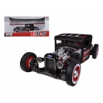 1929 Ford Model A Flat Black 1/24 Diecast Model Car by Maisto