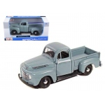 1948 Ford F-1 Pickup Truck Gray 1/25 Diecast Model by Maisto