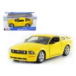 2006 Ford Mustang GT Yellow 1/24 Diecast Model Car by Maisto