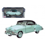 1950 Chevrolet Bel Air Green 1/18 Diecast Model Car by Motormax