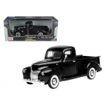 1940 Ford Pickup Black 1/18 Diecast Model Car by Motormax