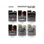 Anniversary Collection 100 Years Dodge / 50 Years Mustang / 70 Years Jeep Series 2, 6pc Diecast Car Set 1/64 by Greenlight