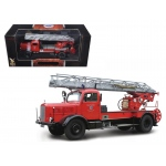 1944 Mercedes L4500F Fire Engine Red 1/24 Diecast Car by Road Signature