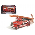 1938 Dennis Light Four Fire Engine Red 1/43 Diecast Car Model by Road Signature