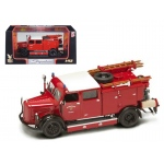 1950 Mercedes Typ TLF-15 Fire Engine Red 1/43 Diecast Model by Road Signature