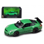 Porsche 911 997 GT3 RS Green 1/43 Diecast Car Model by Road Signature