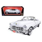 1949 Cadillac Coupe De Ville Convertible White 1/18 Diecast Model Car by Road Signature