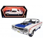 1970 AMC Rebel White 1/18 Diecast Model Car by Road Signature