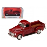 1950 GMC Pick Up Burgundy 1/43 Diecast Car by Road Signature