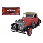 1931 Chevrolet Sport Cabriolet Red 1/32 Diecast Model Car by New Ray