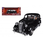 1937 Chevrolet Master Deluxe Town Sedan Black 1/32 Diecast Model Car by New Ray