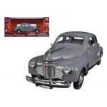 1941 Chevy Special Deluxe 5-Passenger Coupe Grey 1/32 Diecast Model Car by New Ray